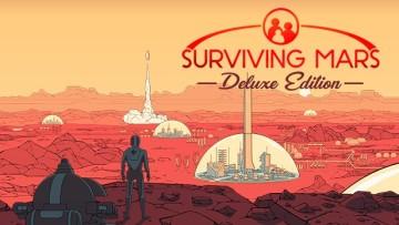 Surviving Mars Deluxe Edition art