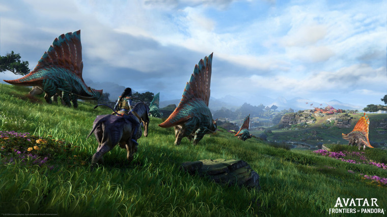 Avatar Frontiers of Pandora in-engine screenshots