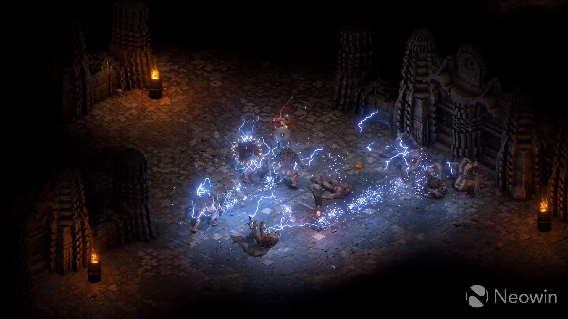 Diablo II Resurrected in-game screenshot