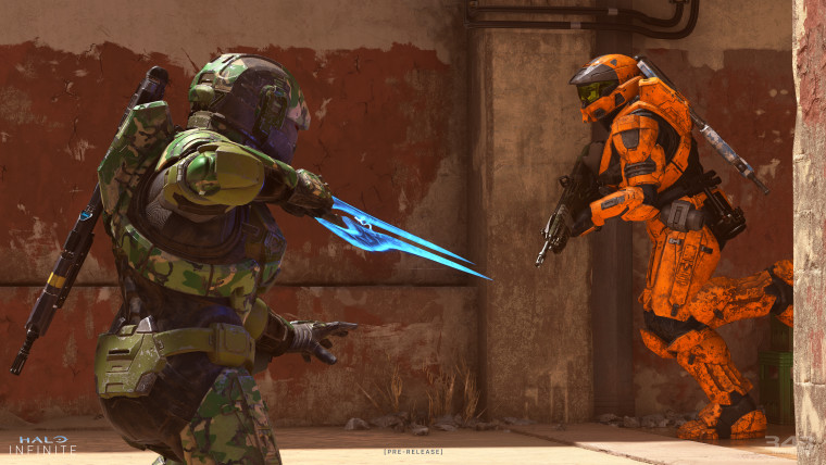 This is a Halo Infinite multiplayer screenshot