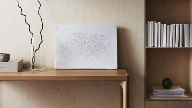 Ikea sonos picture frame speaker white color