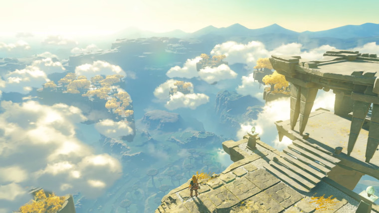 In-game screenshot of Breath of the Wild sequel