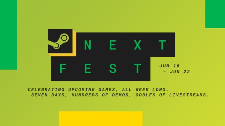 Steam Next Fest Announcement Promo