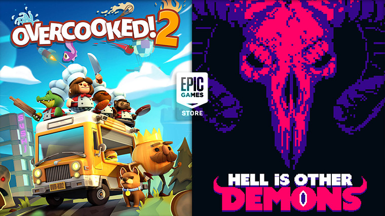 Overcooked! 2 and Hell is Other Demons are free to claim on the Epic Games Store this week