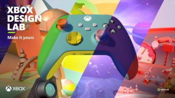 Xbox Design Lab service artwork