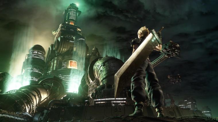 Final Fantasy VII remake keyart