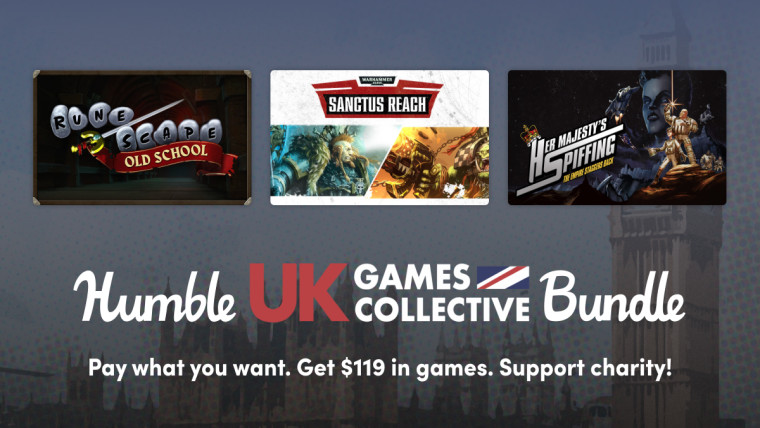 Games included in the Humble UK Games pack