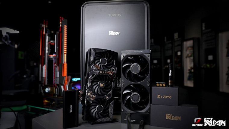 The iGame RTX 3090 KUDAN Limited Edition card