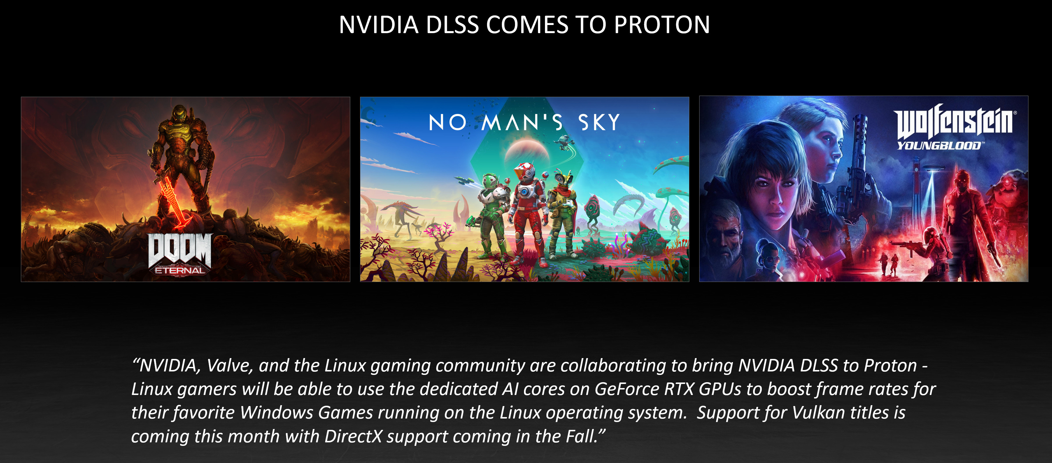 Nvidia DLSS comes to Proton