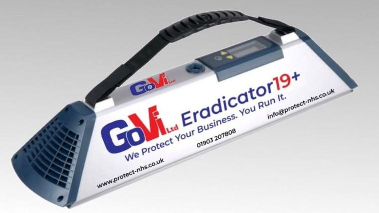 Go-Vi Eradicator19 air purifier