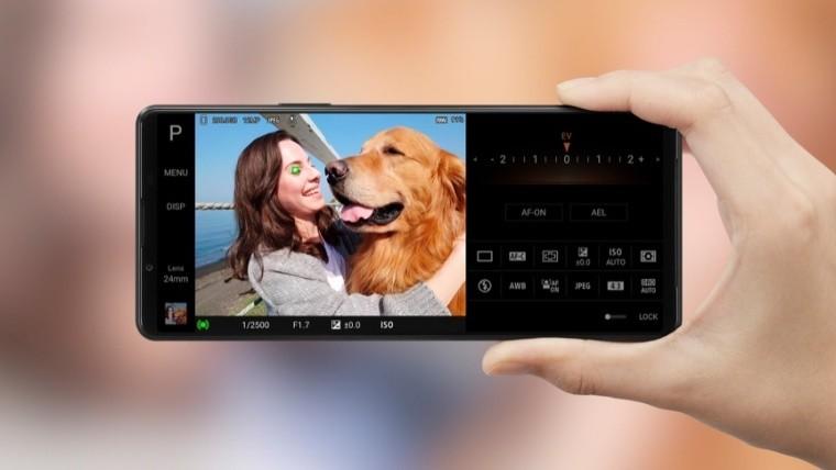 Sony Xperia 1 III camera mode