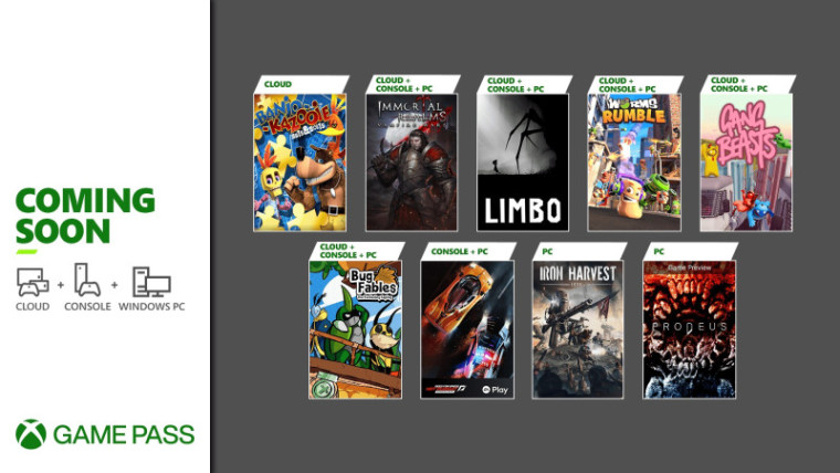 Xbox Game Pass June second wave of games