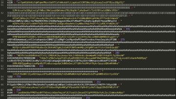 Obfuscated malware code
