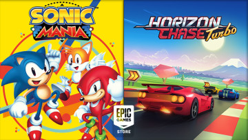 Epic Games Store free games Sonic Mania and Horizon Chase Turbo