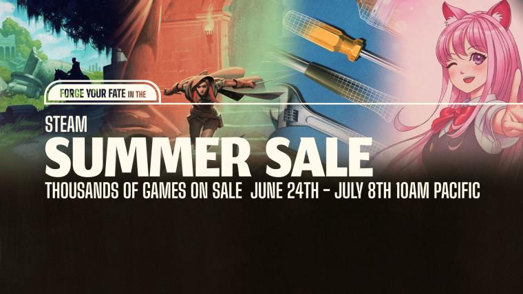 Steam Summer Sale 2021 promo