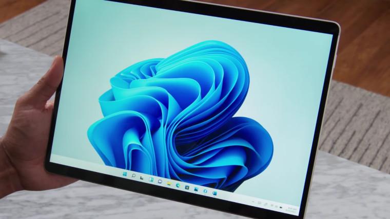 Windows 11 on a Surface Pro X