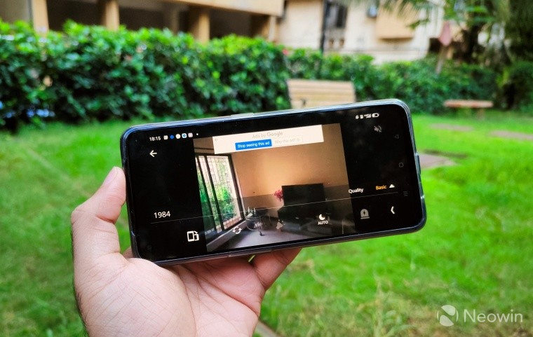 Using old smartphone as a security camera