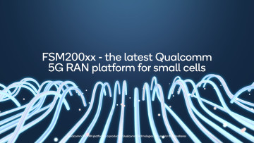 A graphic showing Qualcomm&039s 5G RAN Platform for Small Cells