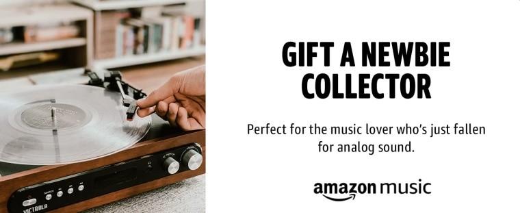 Amazon vinyl subscription service