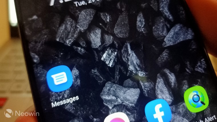 Google Messages app icon on a mobile phone screen