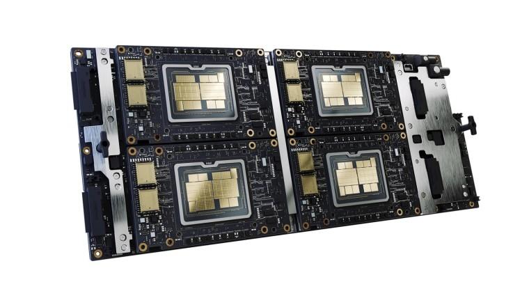Intel Ponte Vecchino in x4 sub-system