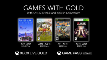 Games with Gold July titles