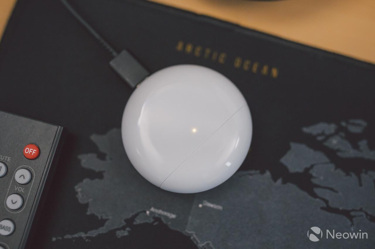 Huawei FreeBuds 4 case charging