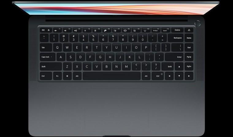 Mi Notebook Pro X 15 keyboard