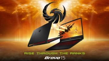 MSI Bravo 15 Ryzen 5000H gaming laptop