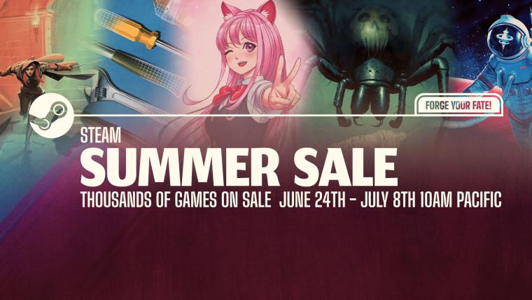 Steam Summer Sale 2021 artwork