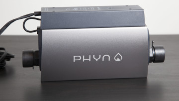 Full view of the Phyn Plus water monitor