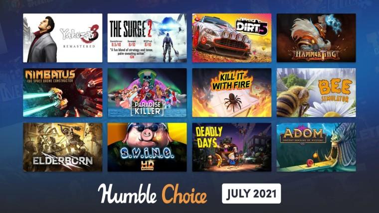 Humble Choice July games