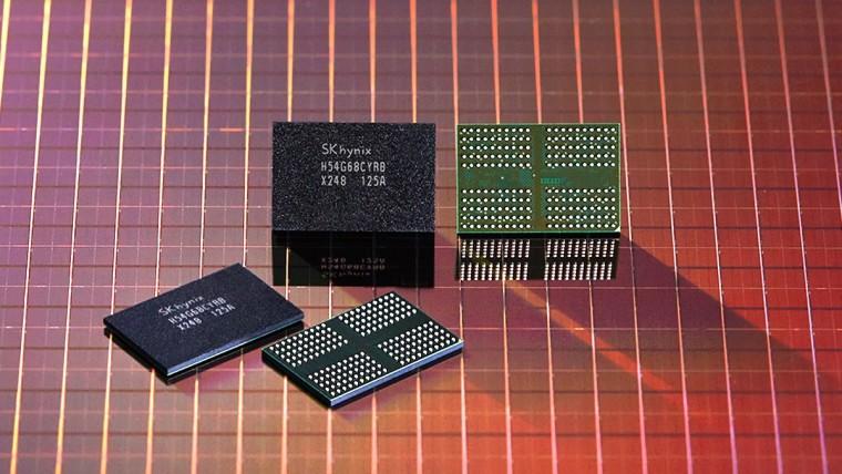 SK hynix&039 1anm LPDDR4 chip