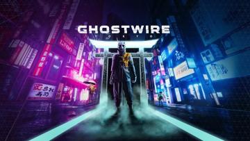 Ghostwire Tokyo keyart