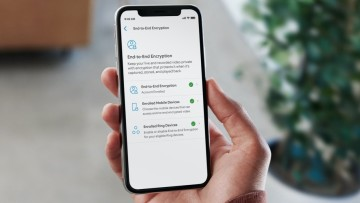 End-to-end encryption setting in the Ring app
