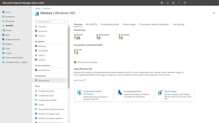 Windows Cloud PC offering that allows businesses run Windows 10 through the cloud