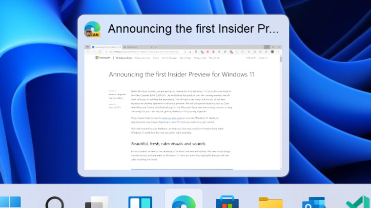 Windows 11 build 2200071 features