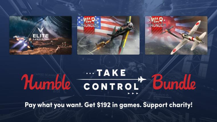 Humble Take Control bundle games