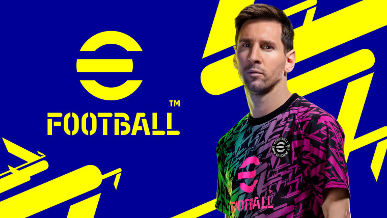 eFootball key visual featuring Lionel Messi