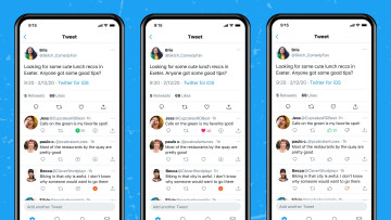Downvote and upvote system being tested on Twitter for iOS
