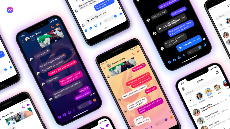 Facebook Messenger&039s new features including an emoji search bar Space Jam chat theme and recent r