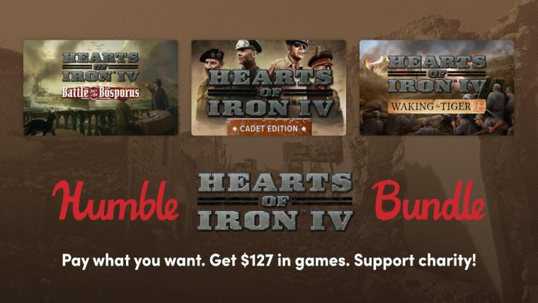 Hearts of Iron bundle Humble promo