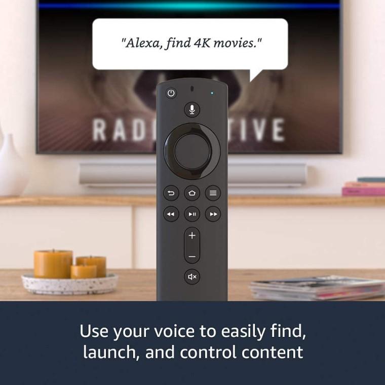 fire tv stick 4k remote