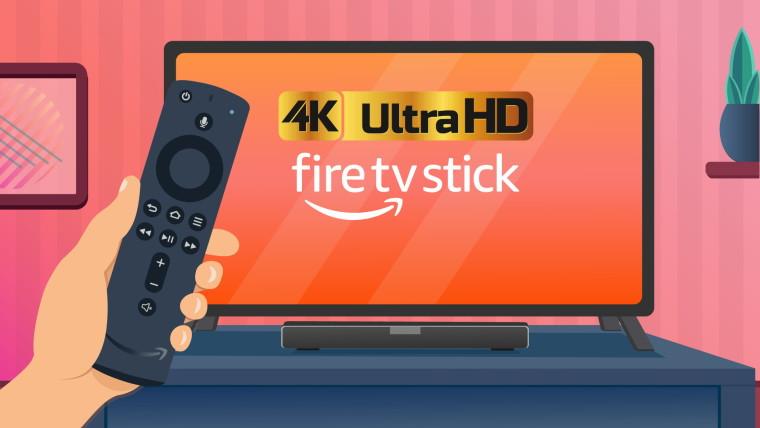 fire tv stick 4k logo