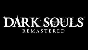 Dark Souls Remastered title card