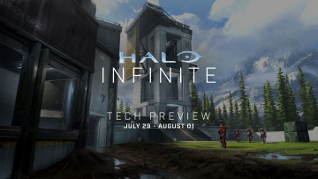 Halo Infinite first Tech Preview dates