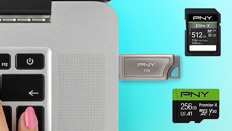 pny storage cards