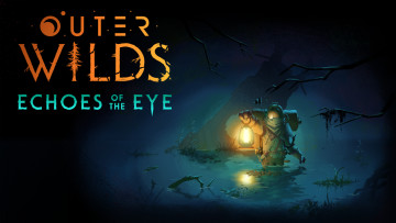 Outer Wilds Echoes of the Eye expansion keyart