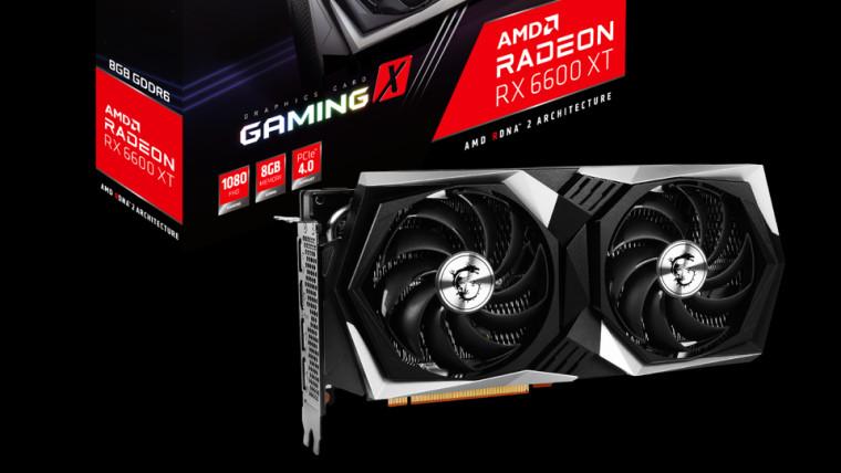 AMD Radeon 6600 XT
