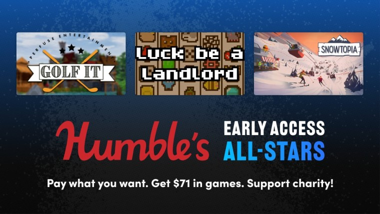 Humble Early Access Bundle promo